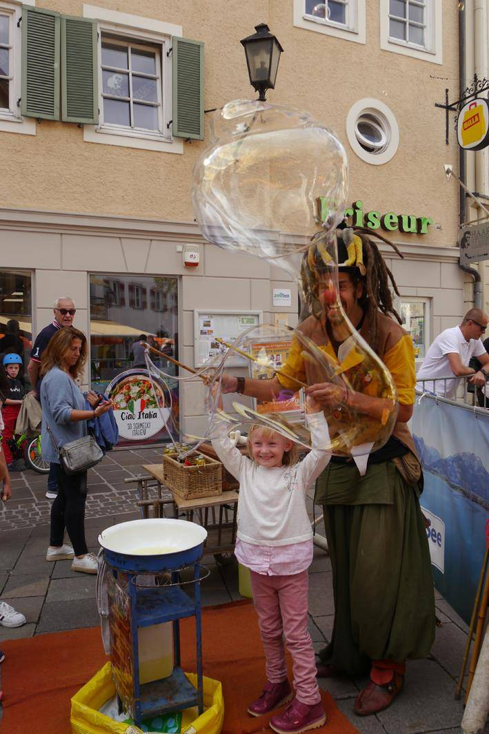 ©zellamsee-altstadt - Bubble-Clown